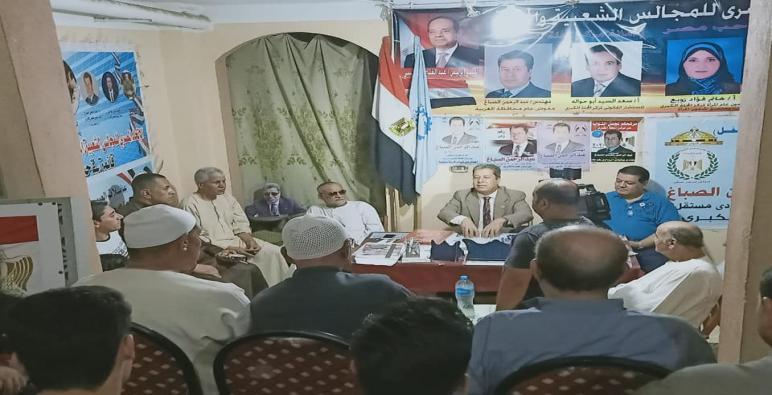 المهندس عبد الرحمن الصباغ يشرح قانون وانتخابات مجلس الشيوخ  خلال ندوه ببلقينا
